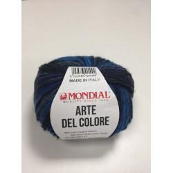 Lana Arte del Colore Blu 683