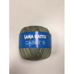Cotone Gatto Cablè 5 Reseda...