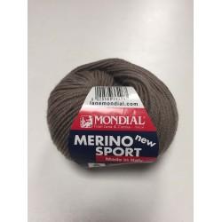 Lana Merino Sport Tortora 718