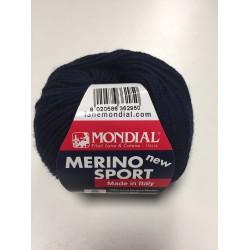 Lana Merino Sport Blu scuro...