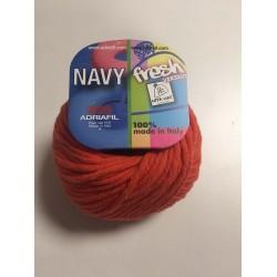 Cotone Adriafil Navy Corallo