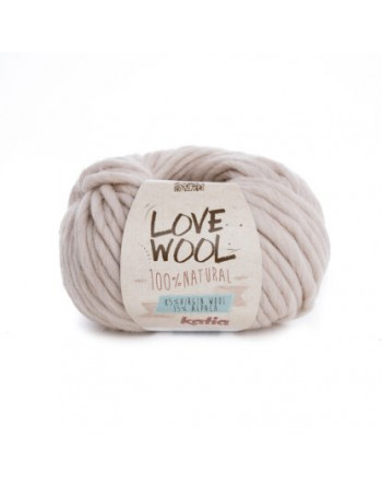 Lana Katia Love Wool Beige 101