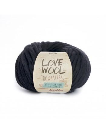 Lana Katia Love Wool Nero 108