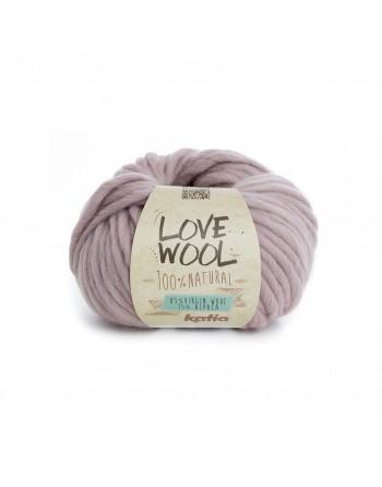 Lana Katia Love Wool Rosa...