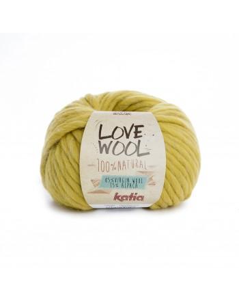 Lana Katia Love Wool Senape...