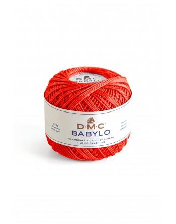 Cotone Dmc Babylo 10 Rosso 666