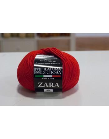 Lana Zara Rosso scuro 1466