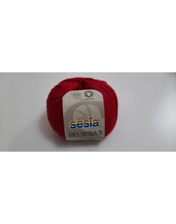Cotone Bio Sesia 5 Rosso 1424
