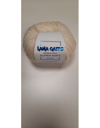 Lana Gatto Super Soft Panna...