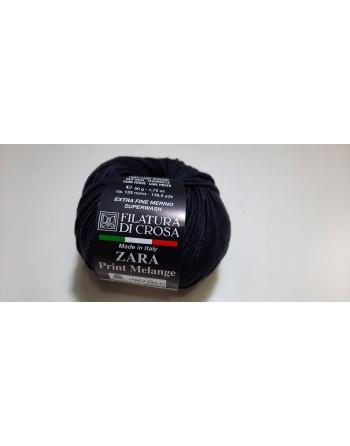 Lana Zara Print Melange Nero 2