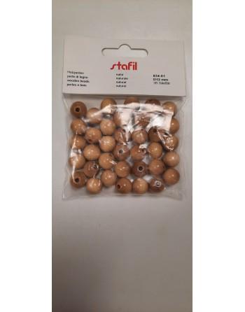 Perle di legno forata 12mm...