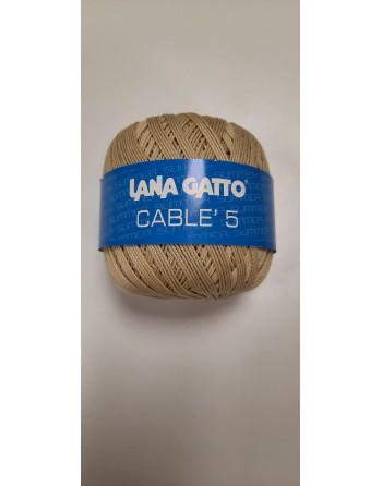 Cotone Gatto Cablè 5 Beige...